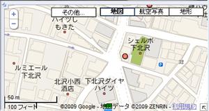 六差路のマップ