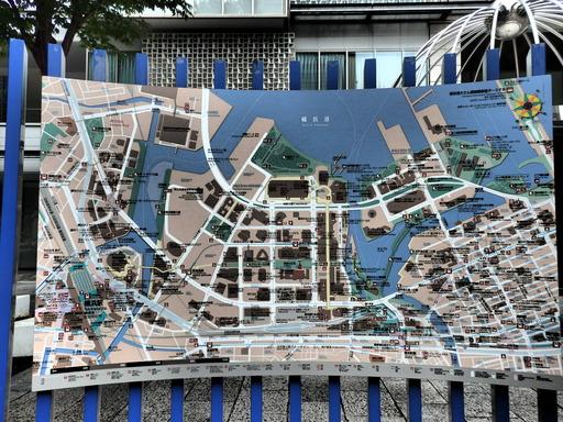 068横浜みなとみらい地図