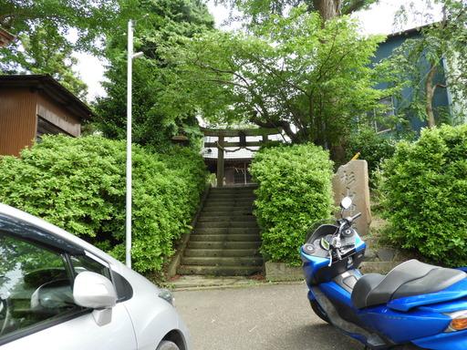 葉山の棚田 012杉山神社