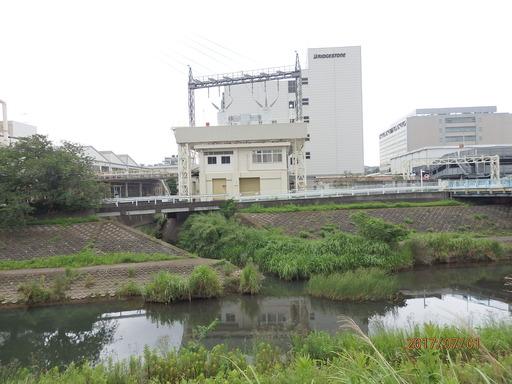 027舞岡川 柏尾川と合流