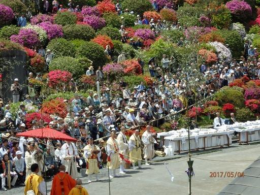 052 青梅塩船観音寺つつじ祭り