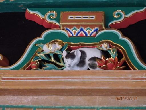 日光東照宮ねむり猫 127