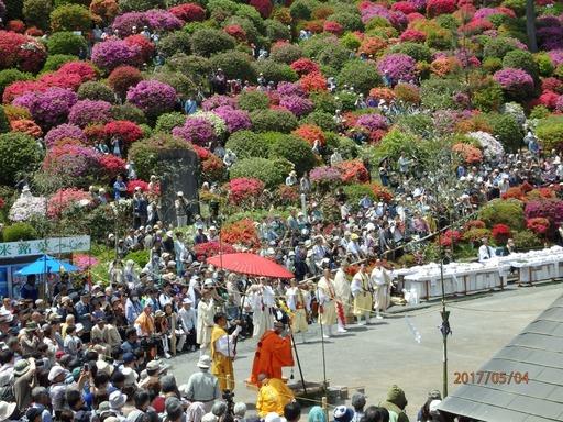 047 青梅塩船観音寺つつじ祭り