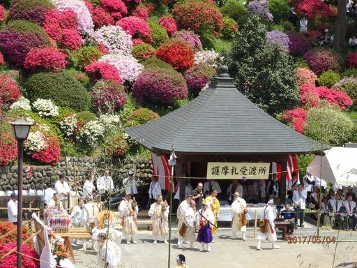 073 青梅塩船観音寺つつじ祭り