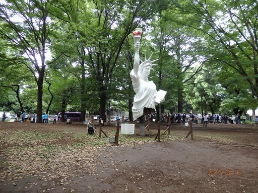 011上野公園の自由の女神