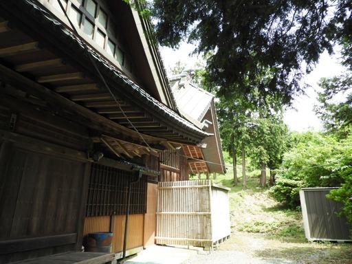 葉山の棚田 010杉山神社