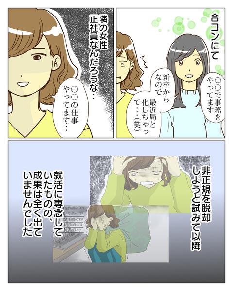 正社員コンプレックス①