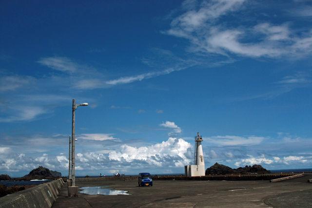式根港白灯台