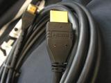 コネクタにHDMI表記あり