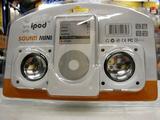 iPod用スピーカー(パッケージ)