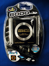外付けバッテリー8000mAh
