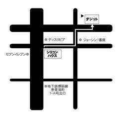 シリコン-デジット地図