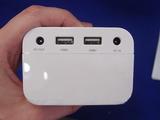 USBポートは最大2.5A出力