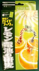 学研・研究(レモン電池)