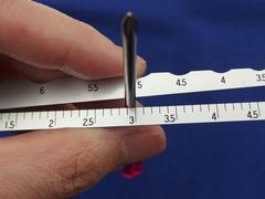 こっちでは直径が測れる