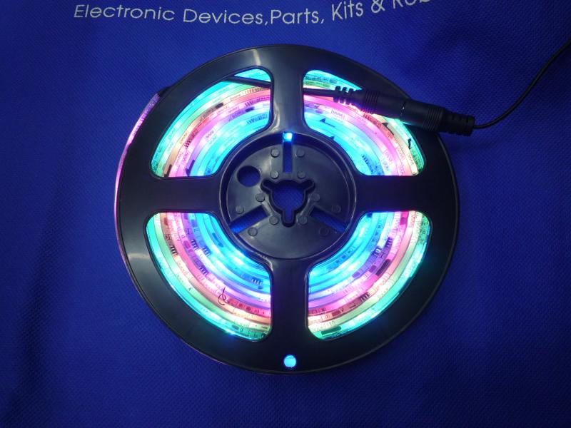 LED621,FC,17SP LEDテープライト RGB自動点滅 5m ¥4800-(税込)