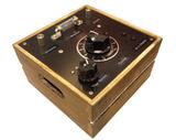 鉱石ラジオ-焼板