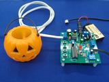 基板に繋ぐのはマイクとスピーカーと電源