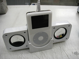 iPod用スピーカー(接続例)