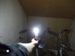 40Wの電球並の明るさ?