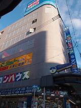 このビルの一番下と一番上の階で通話可能