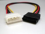 ペリフェラル4Pin-SATA15Pin電源