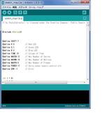 arduino IDEスクリーンショット