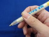 サインペン感覚でフラックスが塗れます