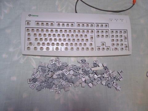 キーボード掃除後1