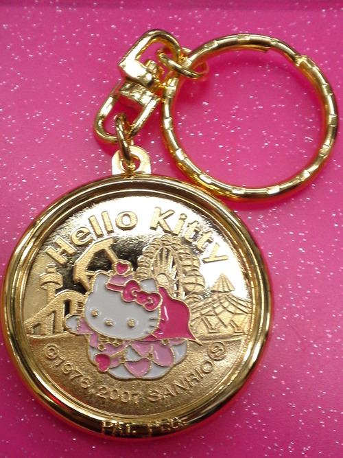 西武遊園地限定キティメダル