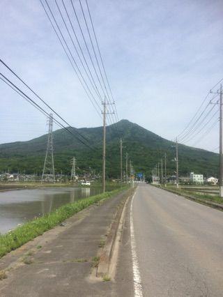 ... から 自走 で 筑波 山 に 向かい