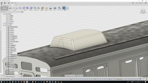 東急8500系CAD進捗11