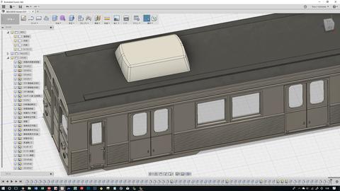 東急8500系CAD進捗12