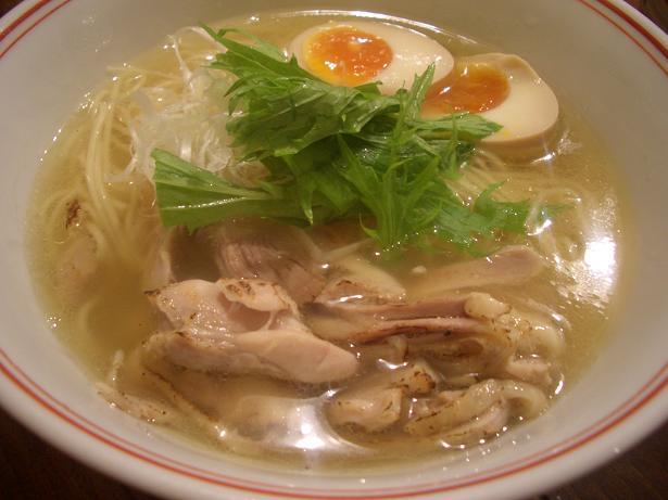 鶏そば(4周年バージョン)