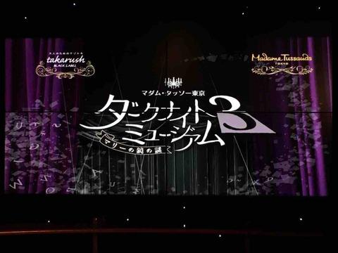 【お台場】【タカラッシュ】ダークナイトミュージアム3 ~マリーの鏡の謎~ の感想