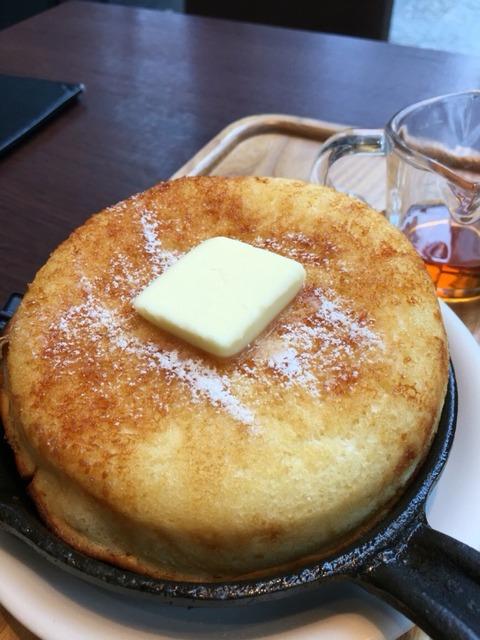 【東京】東京ロビーで鍋焼きパンケーキ
