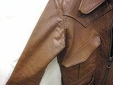 革ジャケットの変色2