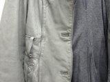 革ジャケットの染み抜き2
