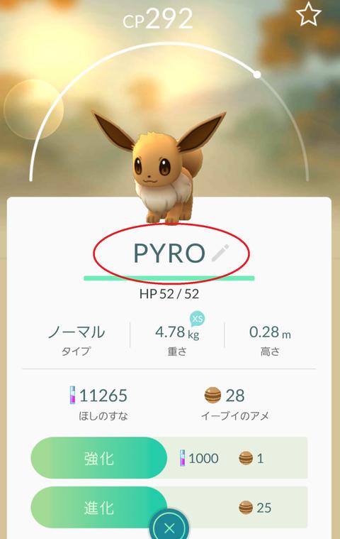 イーブイpyro2