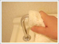 写真:お手洗いのカラン