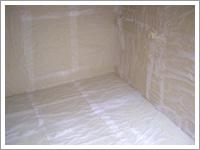 写真:ガス台下(ナノ湿布中)