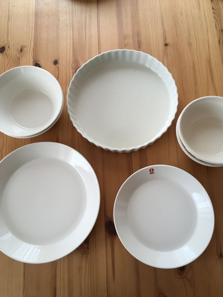 グラタン皿。ヌコジャは結構使う機会多いです。舌が焼ける程あつあつの大好きです(´∀`*)