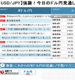 【USD/JPY】強襲!今日のドル円見通し[fx外国為替予想ログ]