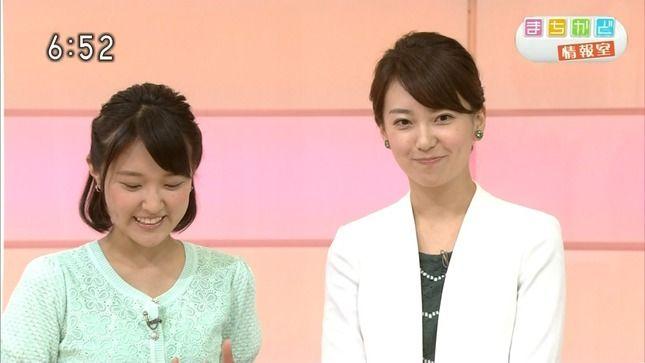 和久田麻由子と近江友里恵 おはよう日本