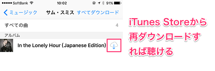 AppleMusic終了後12