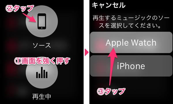 AppleWatch音楽同期10