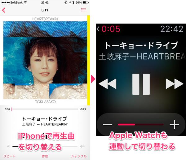 AppleWatchミュージック14