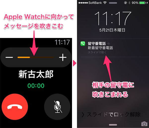 AppleWatch電話追加01