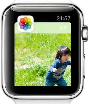 AppleWatch写真共有00