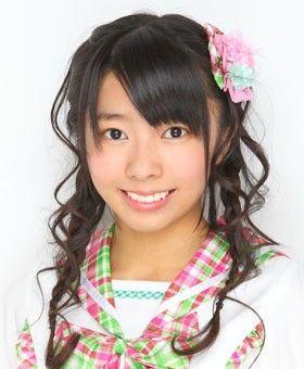 デビューしたばかりの中村麻里子